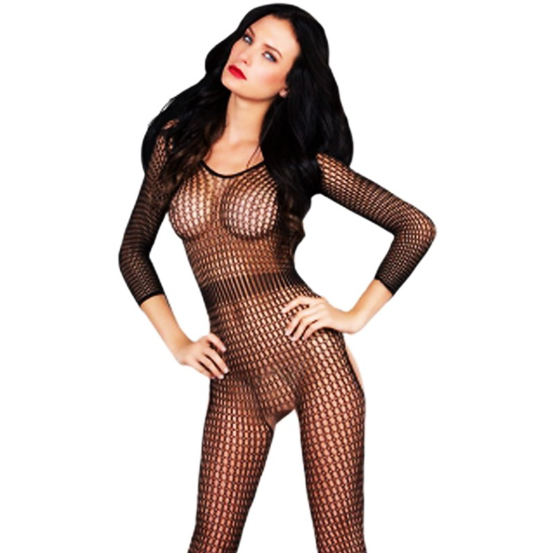 Julia in fishnet pantyhose fucking her lucky slave 1