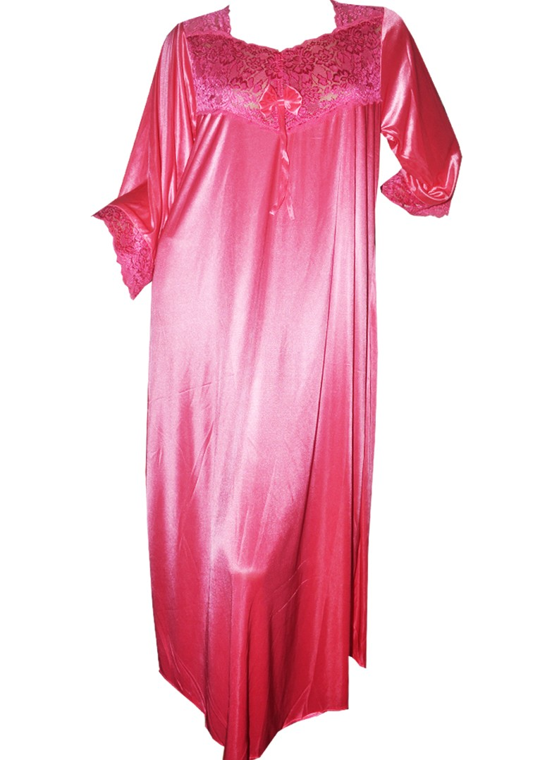 Long Satin Night Dress Beautifulmeworld